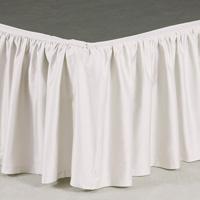 Fresco Classic White Ruffled Skirt Panels