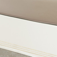Tessa Ivory/Bisque Skirt Panels