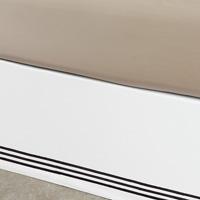 Tessa White/Black Skirt Panels