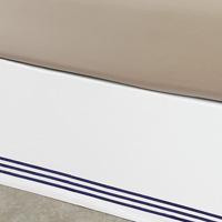 Tessa White/Navy Skirt Panels