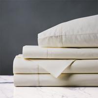 Gianna Hemstitch Sheet Set in Ivory