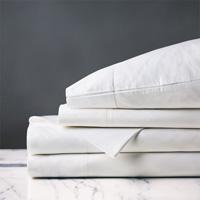 Gianna Hemstitch Sheet Set in White