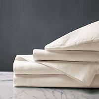 Shiloh Linen Sheet Set in Natural