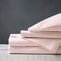 Shiloh Linen Sheet Set in Petal