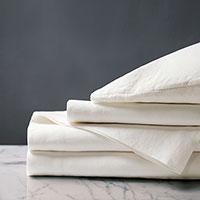 Shiloh Linen Sheet Set in Shell