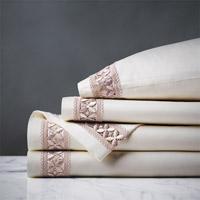 Juliet Ivory/Fawn Sheet Set