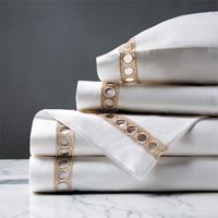 Celine Lace Sheet Set in Champagne