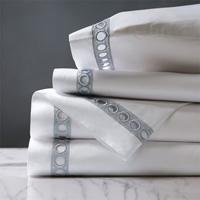 Celine Lace Sheet Set in Silver