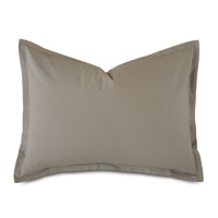Vail Percale Standard Sham In Fawn
