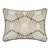 Kimahri Embroidered Standard Sham