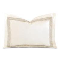 Cornice Ivory/Pearl Standard Sham