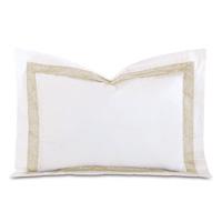 Cornice White/Pearl Standard Sham
