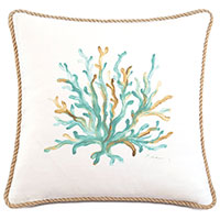 Sumba Hand-Painted Coral