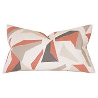Sconset Salmon Decorative Pillow