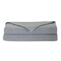 Cisero Matelasse Coverlet In Gray