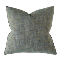 Rowley Woven Decorative Pillow In Teal
