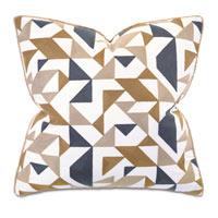 Wellfleet Embroidered Decorative Pillow