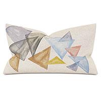 Hawley Triangles Decorative Pillow