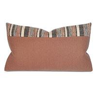 Ridge Colorblock Decorative Pillow