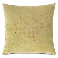 Zephyr Engraved Decorative Pillow