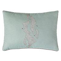 Zephyr Nailhead Decorative Pillow